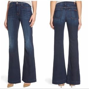 7 for All Mankind Ginger Flare leg jeans size 27